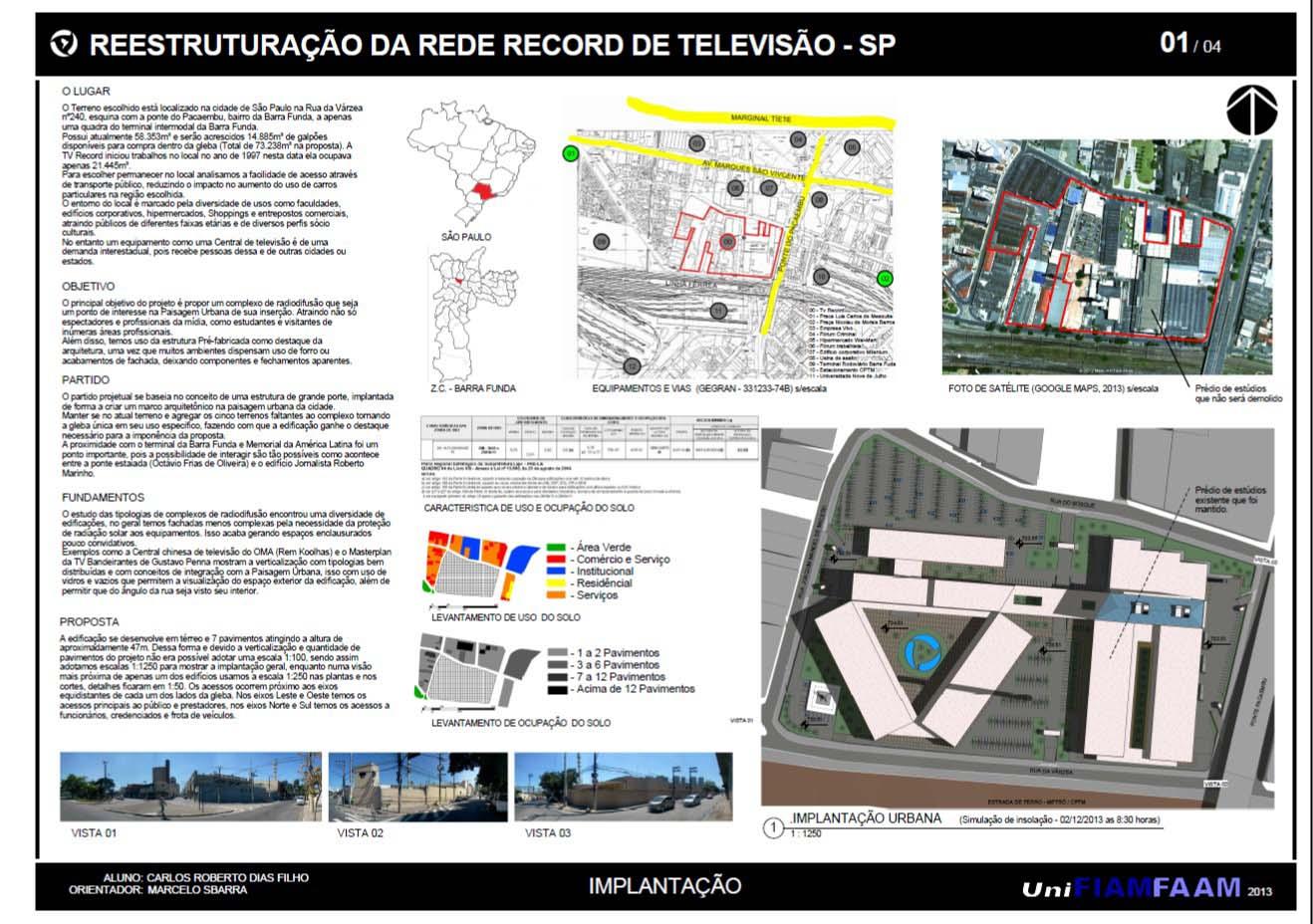 Rede Record - Prancha 01