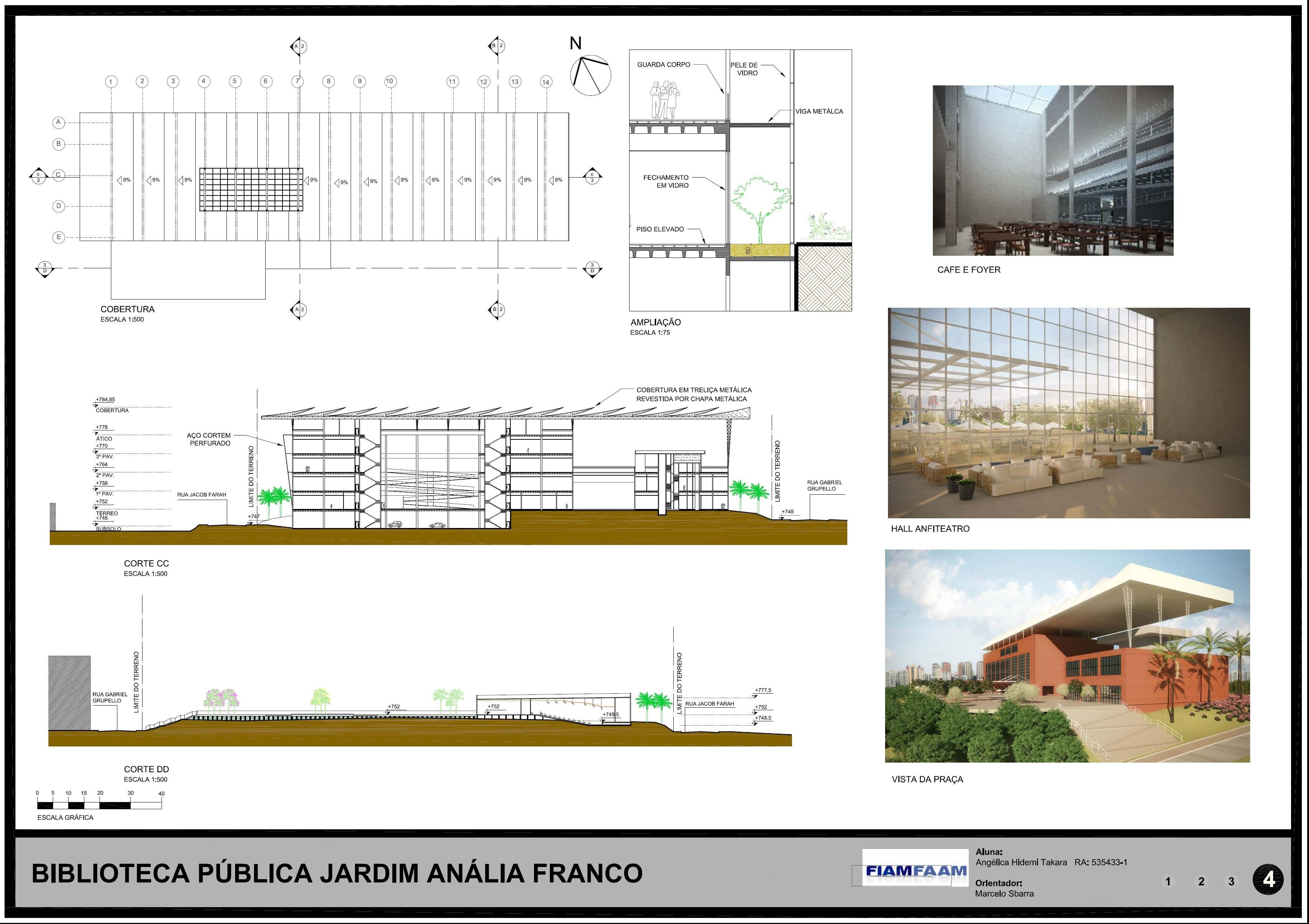 Biblioteca Anália Franco - Prancha 4