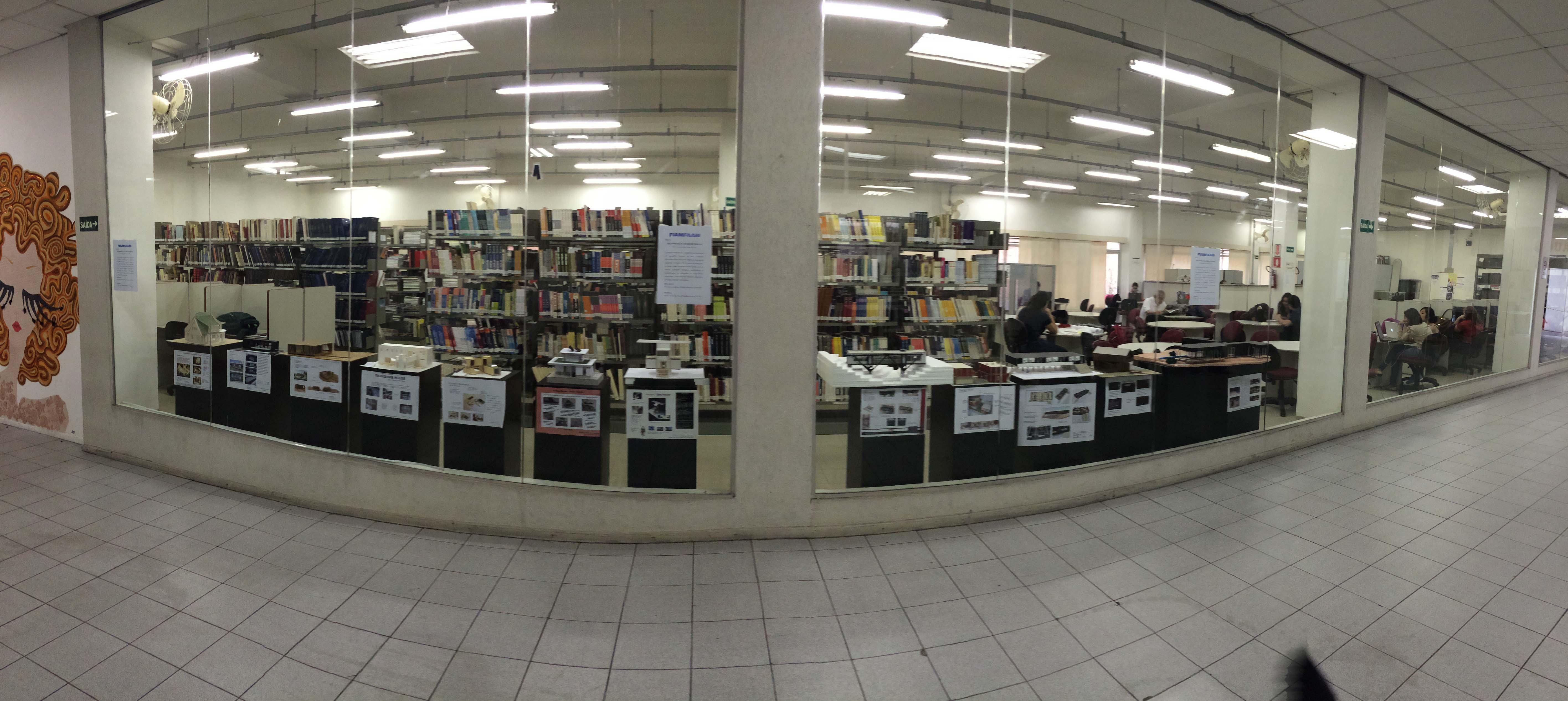 vista da biblioteca