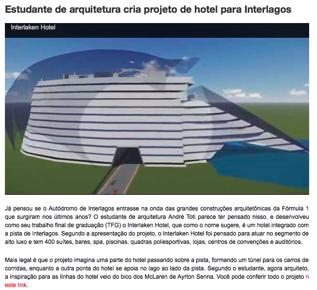 Fonte: http://www.flatout.com.br/renault-fluence-ganha-versao-de-corrida-no-brasil-um-hotel-em-interlagos-super-picape-de-600-cv-da-hennessey-e-mais/. Acesso em 18/12/14