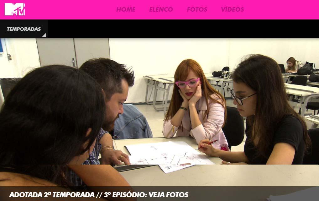 Mídia - Adotada MTV
