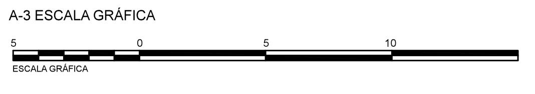 Exemplo de escala gráfica