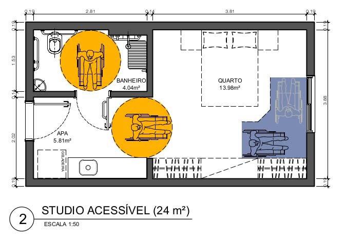 Studio acessível
